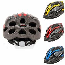 New Helmet Bicycle Cycling Bike carbon Red color With Visor Mountain Adult Mens