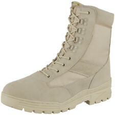 Desert Patrol Suede Leather Combat Boots Mens Army Tactical Police Mil-Com 4-13