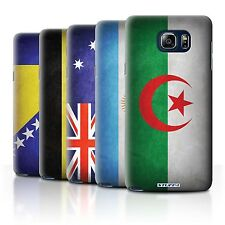 STUFF4 Back Case/Cover/Skin for Samsung Galaxy Note 5/N920/Flags