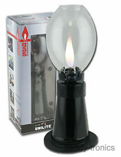 Unilite Refillable Gas Lamp Safety Flame Stop Indoors/Outdoors Ideal For Camping