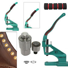 Hand Press Machine with Eyelets/Grommet Tool Die Set Kit - Multiple Size & Use