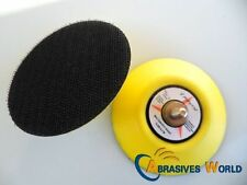 """Dia.2"""" 50mm 3"""" 75mm 6"""" 150mm backing pad abrasive velcro disc pad for air sander"""