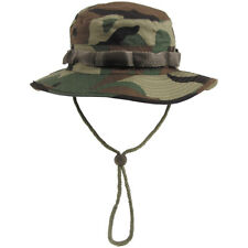 Gi Ripstop Army Combat Boonie Jungle Bush Hat Cap US Military Woodland Camo S-XL