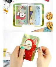 HIMORI Wink card case_Jetoy_14 Slots Credit Card Case-Wink Kitty Hologram Prints