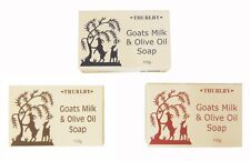 THURLBY GOATS MILK & OLIVE OIL SOAP - PALM OIL FREE.