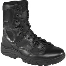 "5.11 Tactical Waterproof Taclite 8"" Boots Mens Security Leather Footwear Black"