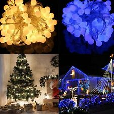 10m 100 Matte Ball LED Fairy String Light Wedding Xmas Party decor ornament