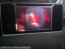 CANADIAN Flag License Plate CANADIAN Pride Country Pride License Plate