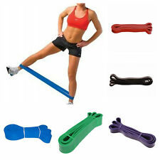 RESISTANCE BANDS Yoga Band Fitness Physio Pilates Crossfit Theraband Workout Set