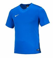 NIKE Dri Fit Soccer Jersey Energy 3 S/S AUTHENTIC Football GYM Sport Blue Shirt