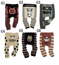 Baby boys girls toddler leggings Warmer Knitting Cotton PP pants Style G Group