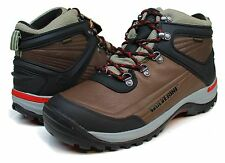 Wolverine® Impact Grey/Brown Waterproof Hiking Boots Med & Wide Widths $135 Sz