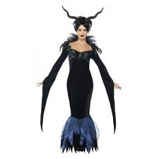Sorceress Costume Adult Demon Witch Halloween Fancy Dress Outfit