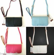 NEW LEATHERETTE FLAP WRISTLET,CROSS BODY,HAND+SHOULDER BAG,PURSE