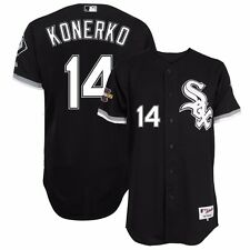 2005 Paul Konerko Chicago White Sox Authentic World Series Alt Black Jersey