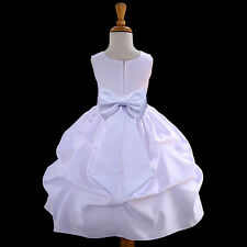 PRINCESS PICKUP DRESS CHOICES OF COLORS FLOWER GIRL HOLIDAYS PARTY CHRISTMAS NEW