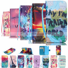 Hot Painted Wallet Rope Leather Case Cover For Apple iPhone 6G/6S/6 Plus 5/5S/5C