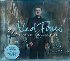 Aled Jones 'Aled's Christmas gift' cd, hand signed in person.