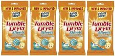 Magic Fabric Tumble Dryer Sheets For Clothes Washing SOFTEN NEW & IMPROVED