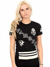 Famous Stars and Straps Black Death Squad Womens T-Shirt
