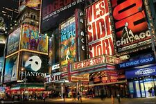 Times Square Poster Print Wall Art Home Decor Skyline New Your City Big Apple