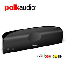REDUCED!!! Polk Audio TL1 Center black Speaker Center Channel, Each. - REFURB.