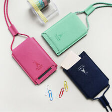 Shinzi Katoh - Line Card Case - Sliding Cover ID Card Metro Card Holder Necklace