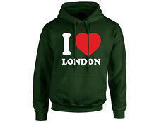 I Love London Unisex Hoodie (8 Colours)