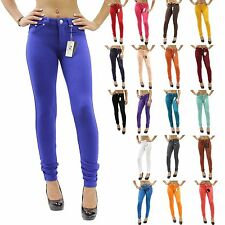 New Colors Sexy Skinny Jeggings Stretch Moleton Jean Leggings Size XS-2XL JW2121