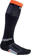 MOOSE Racing MX Motocross Offroad XCR Over-Calf Thick Socks (Black) Choose Size