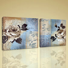 Large Canvas Wall Art HD Giclee Print Modern Abstract Floral Painting Picture