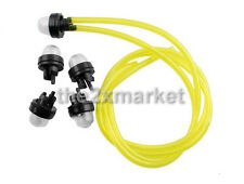Snap In Primer Bulb Pump Fuel Line For Homeliter STIHL ECHO McCulloch Poulan