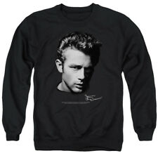 James Dean Icon Movie Actor Portrait Adult Crewneck Sweatshirt