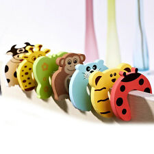 Baby Kids Safety Door Stop Finger Pinch Guard Lock Jammer Stopper Protector NEW