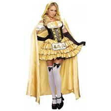 Goldilocks Costume Adult Fairy Tale Halloween Fancy Dress