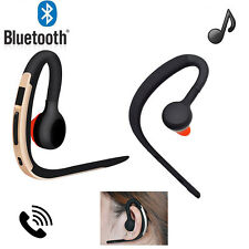 Stereo Wireless Handsfree Bluetooth Headset Earpiece For iPhone Samsung HTC LG