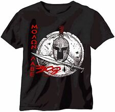 SPARTAN SWORD & SHIELD T-SHIRT, LEONIDAS, ANCIENT GREECE, SPARTA - EXCELLENT!!!