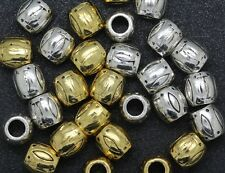 Wholesale LOT Fashion exquisite Tibet Silver big hole charm interval Beads 9.5mm