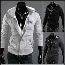 New Winter Men Casual Zipper Hoodie With hooded Pocket Style Jacket Outerwear