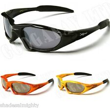 X LOOP DESIGNER SPORTS CYCLING BLACK NEW WRAP MENS LADIES BOYS SUNGLASSES UV 01