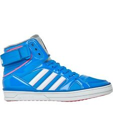 Womens ADIDAS SPACE DIVER W Blue Hi Top Synthetic Trainers Q21306