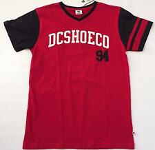 DC Shoe CO 94 T Shirt Youth Boy's Size L XL Red White Black Short Sleeve Top NWT