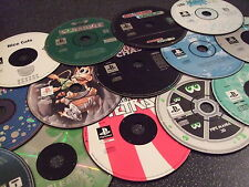 PS1 Games Disc Only - Pick your own -- Free UK P&P - Loads to Pick From!