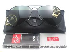 Ray Ban Aviator Classic Green Lens G-15 RB3025 L2823 58-14 Original Black Frame
