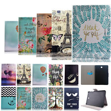 Vogue Design Wallet PC PU Leather Stand Case Cover For Samsung Galaxy Tab Tablet