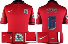 *15 / 16 - NIKE ; BLACKBURN ROVERS AWAY SHIRT SS + PATCHES / SHORT 6 = SIZE*