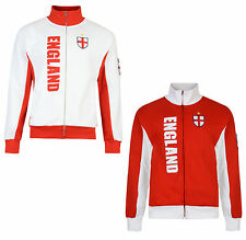 KIDS BOYS ENGLAND FOOTBALL TRACKSUIT ZIP TOP RETRO JACKET BNWT
