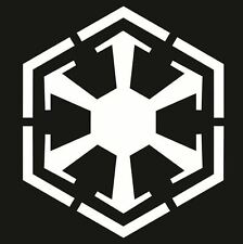 STAR WARS - Sith Empire Logo Decal - Choose Size & Color - The Force Awakens