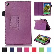 Hot Magnetic Folio PU Leather Cover Case For Amazon Kindle Fire HD 8 inch New