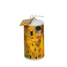 GUSTAV KLIMT THE KISS CYLINDER CANDLE New
